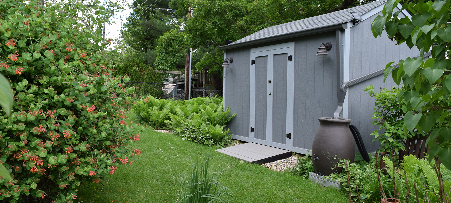 Garden Shed Gray